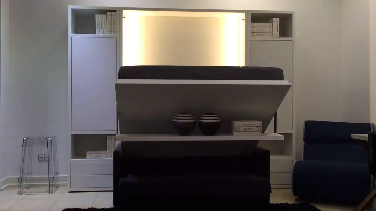 łóżko Chowane W Szafie Od Transforms Pl Youtube