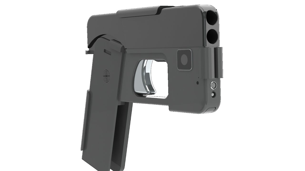 """The """"cellphone pistol"""" is now available - all4shooters"""