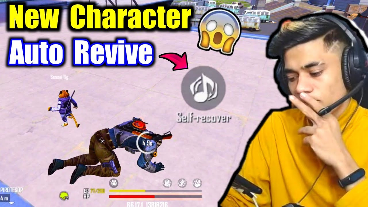 New Auto Revive Character🤯🔥Fair or Unfair ? - Garena Free Fire
