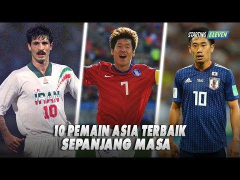 10 Pemain Asia Terbaik Sepanjang Masa, Pemain Favorit Kamu Masuk?