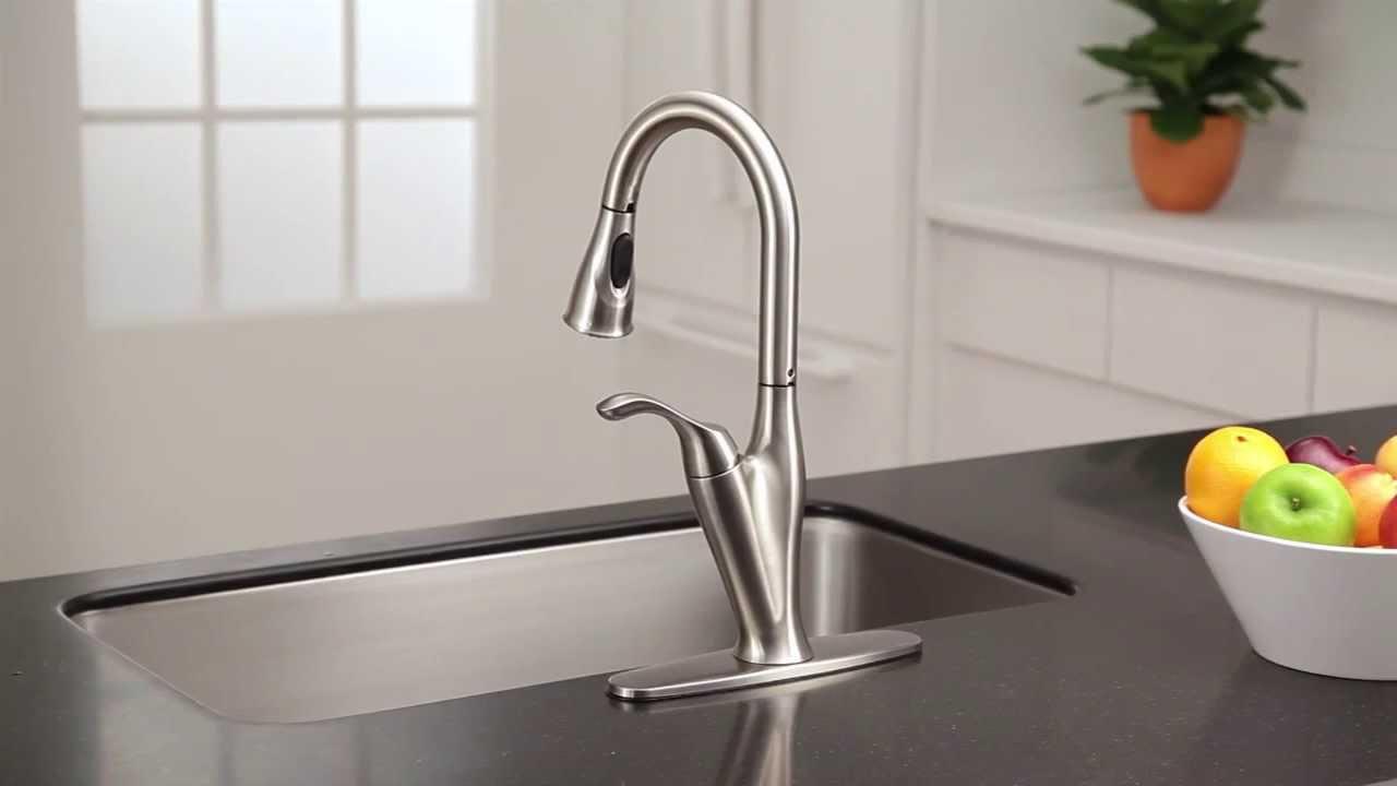 Benton™ Pulldown Kitchen Faucet with Reflex® | Moen Features ...