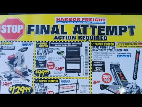 Harbor Freight Live Pt. 6...Wow!