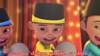 Download Assalamualaikum Versi Upin Ipin | Sholawat Merdu Assalamualaikum Upin dan ipin