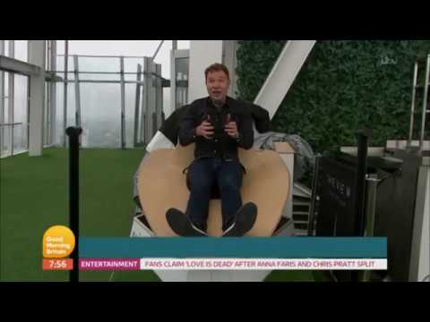 GMB 8th August 2017 - Richard Arnold on The Shard