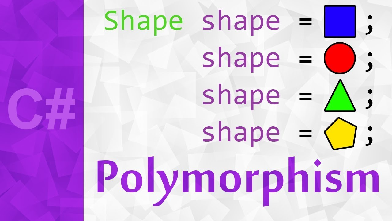 Polymorphism Explained in C# with Examples ? Polymorphism Object Oriented Programming in Unity3d