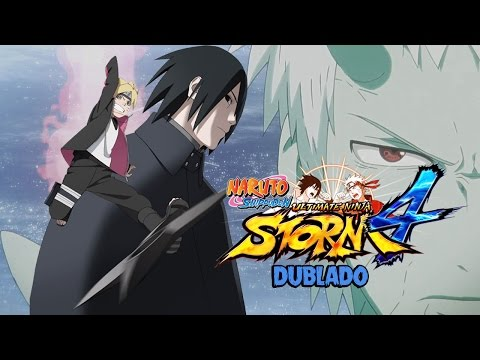 Ultimate Jutsu de Todos Personagens DUBLADO - Naruto Ninja STORM 4 (All Characters Ultimate Jutsus)