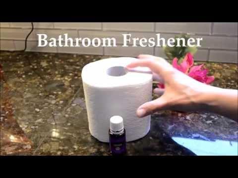 DIY TOILET PAPER ROLL BATHROOM FRESHENER