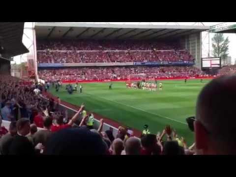 Nottingham Forest Vs Blackpool - Mull of Kintyre 09.08.14
