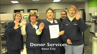Thanks For Giving - LifeServe Blood Center - Volunteer Appreciation - Fall 2013