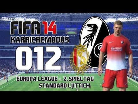 Let's Play FIFA 14 | Karrieremodus - #012 Europa League 2. Spieltag - Standard Lüttich | ᴴᴰ