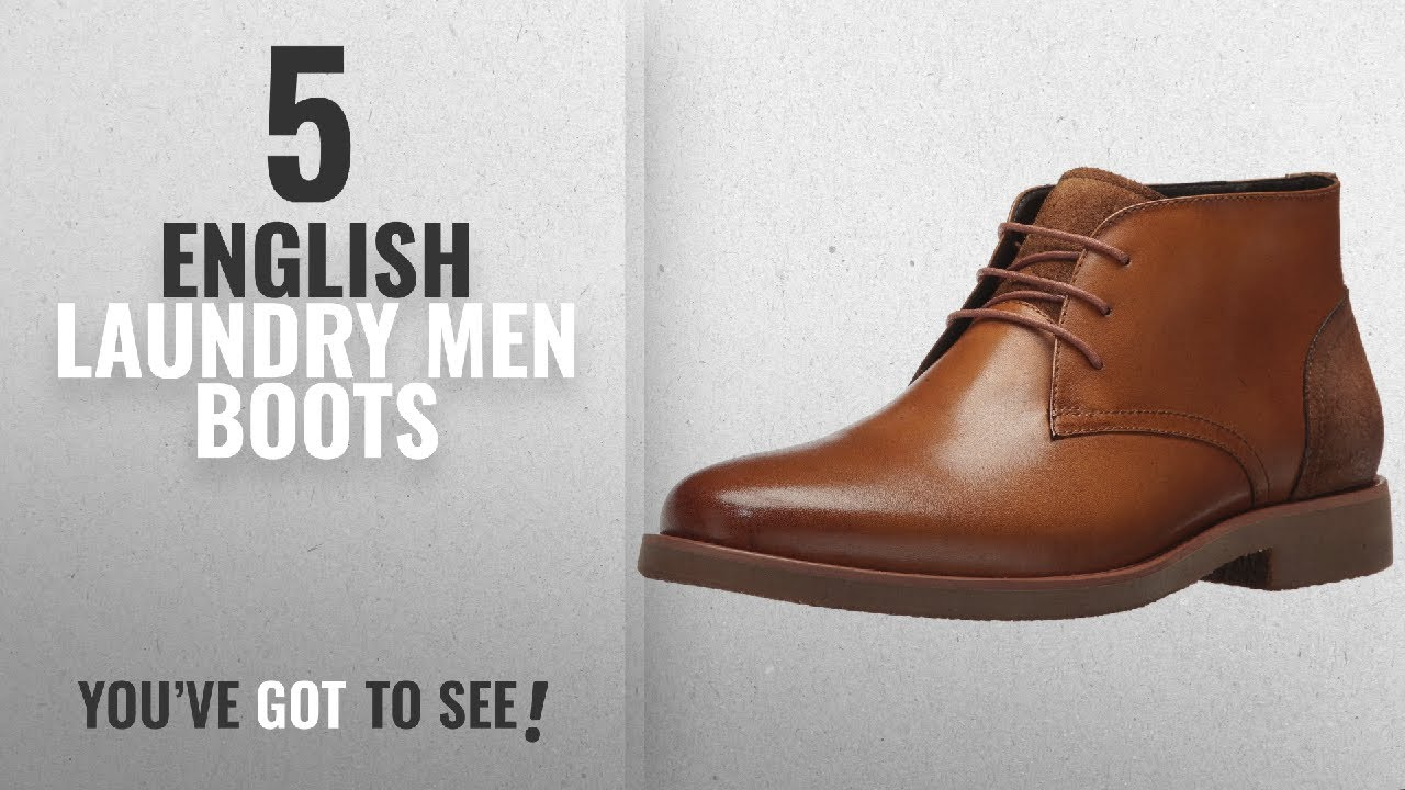 cc6a2637d3bc0 Top 10 English Laundry Men Boots [ Winter 2018 ]: English Laundry ...