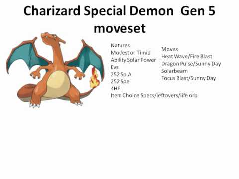 how to build a good charizard y team