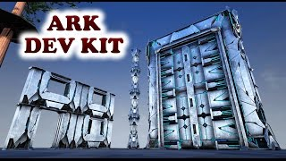 ARK Dev Kit TEK TIER Structures (DINO GATE/WALLS etc) and REDWOOD FOREST (TREE PLATFORM) Updated