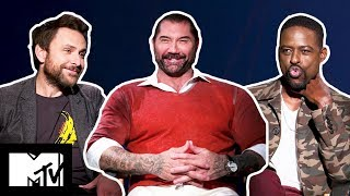 Dave Bautista Appeared In Neighbours & More Curiosities From The Hotel Artemis Cast | MTV Movies