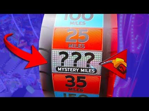 I Won the Mystery Wheel Arcade Game!