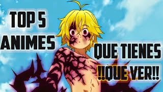 Top 5 mejores animes de super poderes que tienes que ver