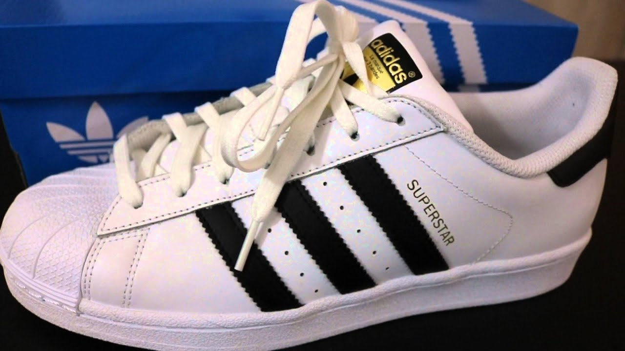 Buy adidas Originals Mens Superstar 2 Trainers White/Black