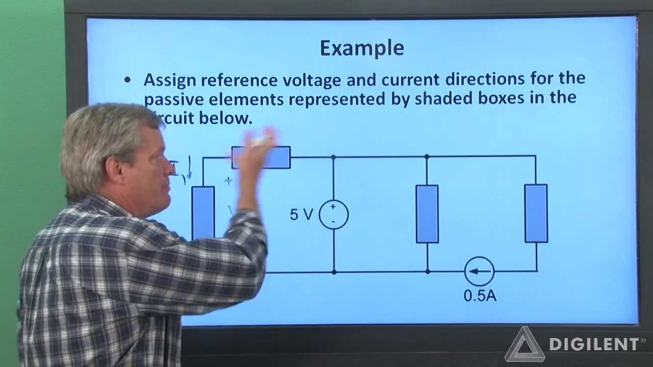 Circuit Analysis Passive Sign Convention Youtube Temperaturecontrollerwithdefrostcycle Basiccircuit