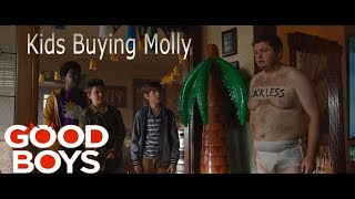 kids Buying drugs(Molly) Scene *Good Boys (2019)*