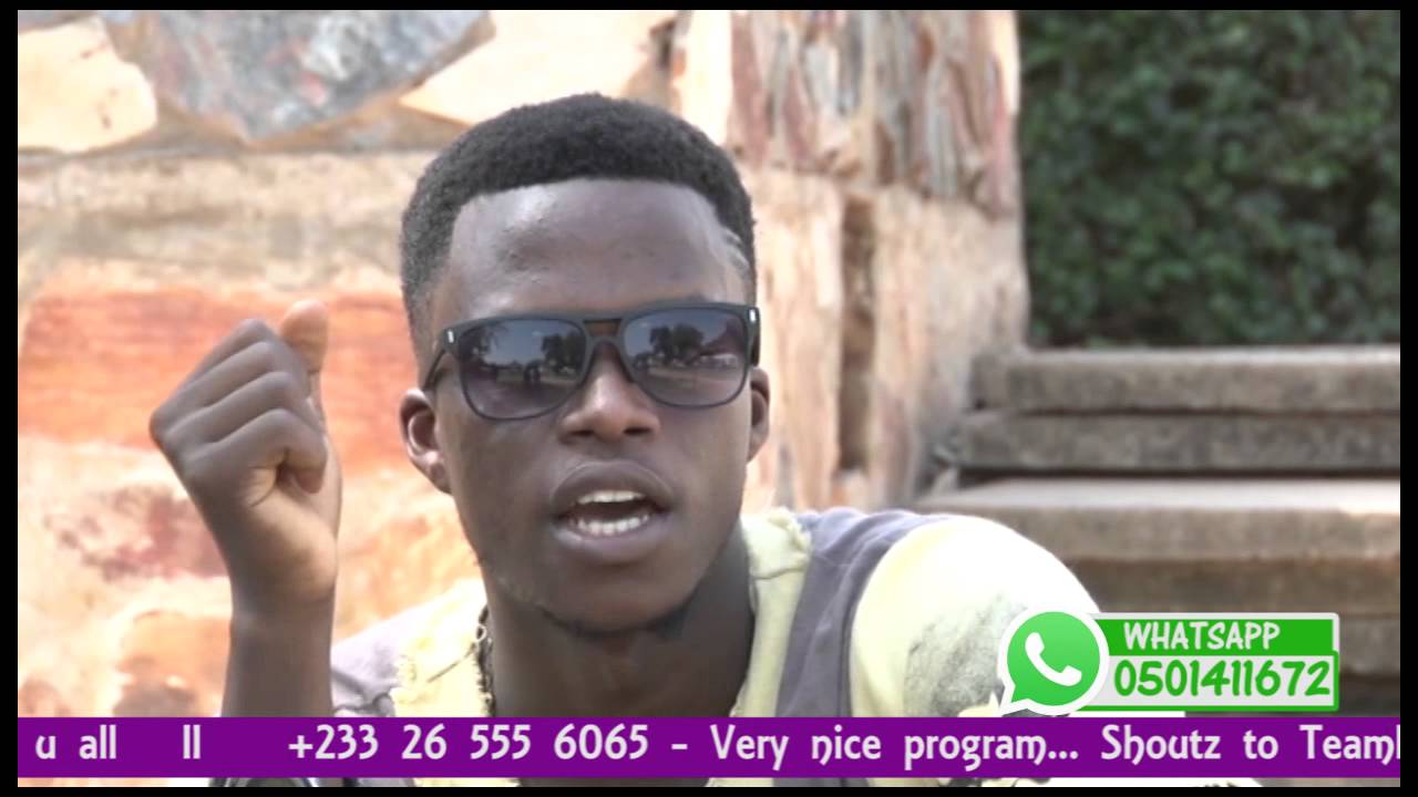 Poncho (a student of University of Ghana) on Discovery zone - Campus tv