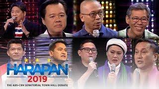 TV Patrol: Tapatan ng 9 kandidato sa unang 'Harapan 2019'