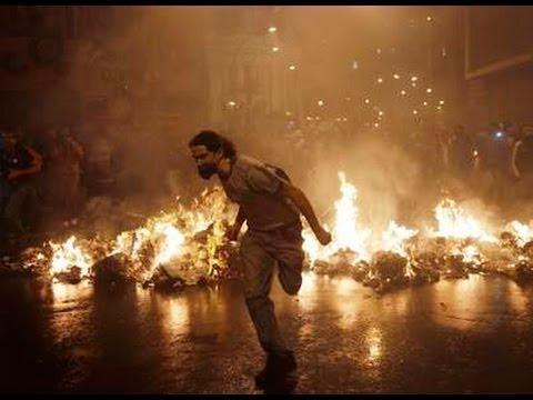 Major RIOTS!! - EGYPT (50 dead) & BRAZIL (violence & destruction) 10.8.13 after KENYA Massacre