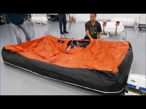 Life raft service