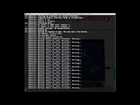 Vagrantfile Example - Introduction to Vagrant and Ansible