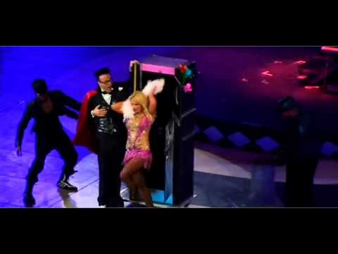 Britney Spears  Circus world Tour DVD  Ooh ooh BaHot As Ice HD1080p edit 2014