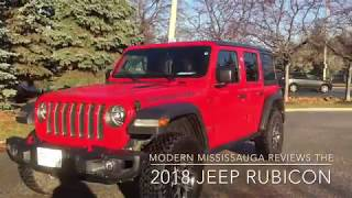 Could you,  should you use the 2018 Jeep Wrangler Rubicon JL as a daily driver?