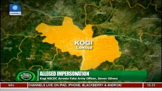 Kogi NSCDC Arrests Fake Army Officer, Seven Others |News Across Nigeria|