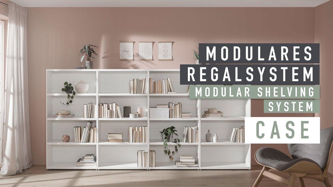 Regalwand CASE individuell konfigurieren | REGALRAUM