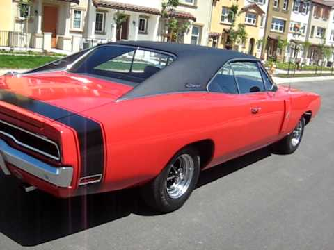 1970 red dodge charger rt 440 walkaround youtube. Black Bedroom Furniture Sets. Home Design Ideas