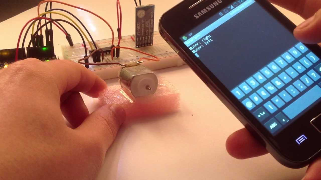 Arduino - Control DC Motor via Bluetooth | Random Nerd Tutorials