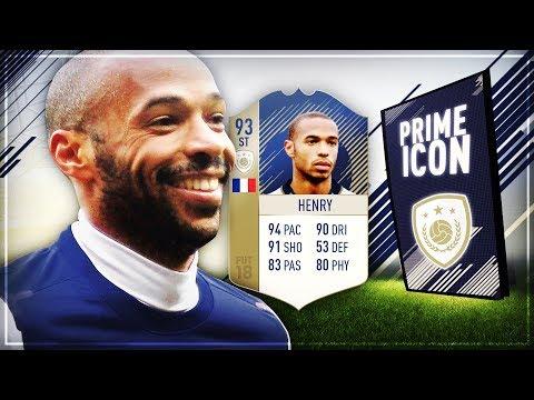 FIFA 18: HENRY (93) Striker PRIME ICON abgeschlossen ✅ 2.500.000 COINS für eine SBC 😱 ft. 100k Sets