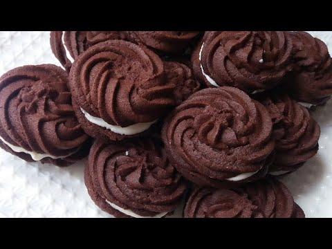 جديد حلوى شبيهة اوريو اقتصادية وهشيشة في 10 دقائق فقط