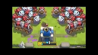 Clash Dok | Funny Moments & Glitches & Fails #1 | Sparky VS Rocket | Clash Royale
