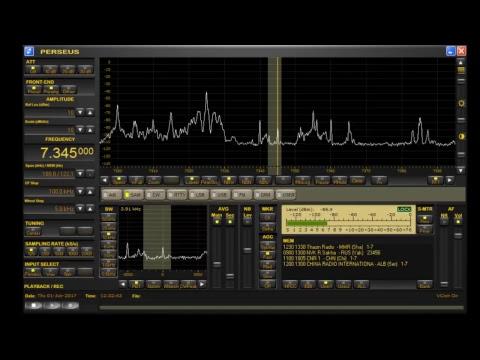 2010DFS Live test 7345 kHz Radio Sakha & Myanmar Radio