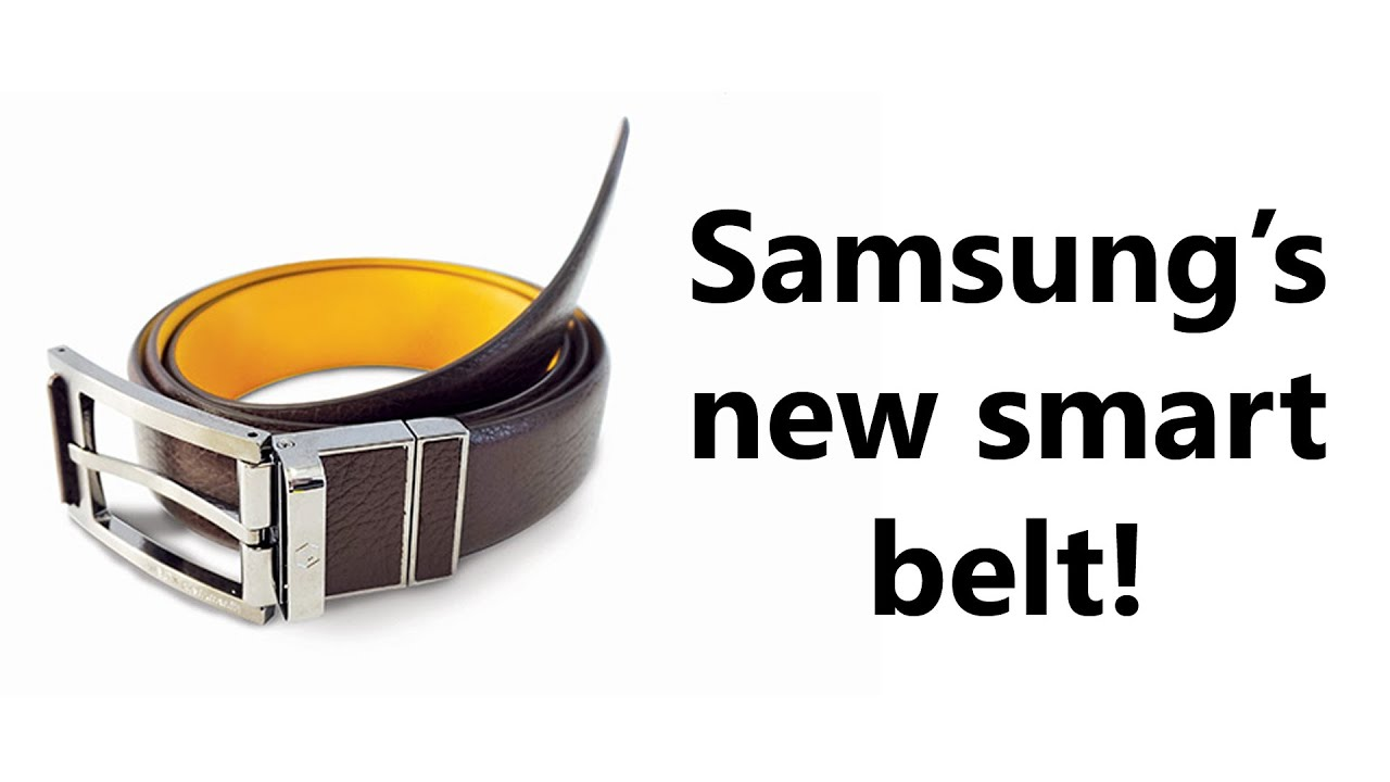 Samsung S Crazy New Product For Ces 2016 A Smart Fitness Belt Welt