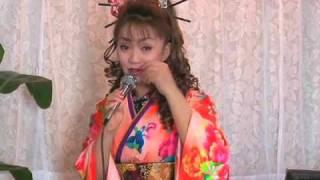 通天閣の歌姫 叶麗子 全国キャンペーン第1弾 2009年12月29日、岐阜県池...