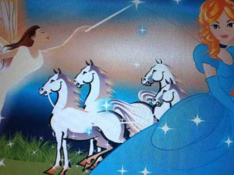"""The storybook for children """"Cinderella"""" by Indy"""
