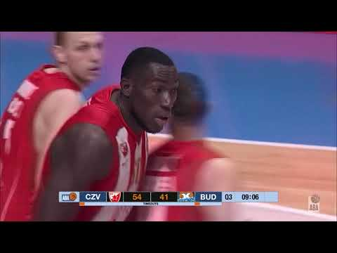 Michael Ojo opens the 2nd half with TWO powerful dunks! (Crvena zvezda - Budućnost, 14.4.2019)
