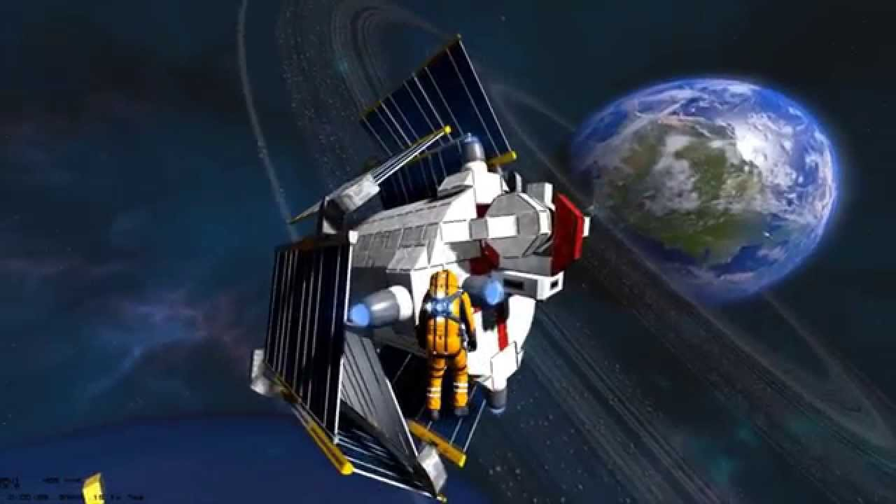 Space Engineers Solar Power Supporter Youtube