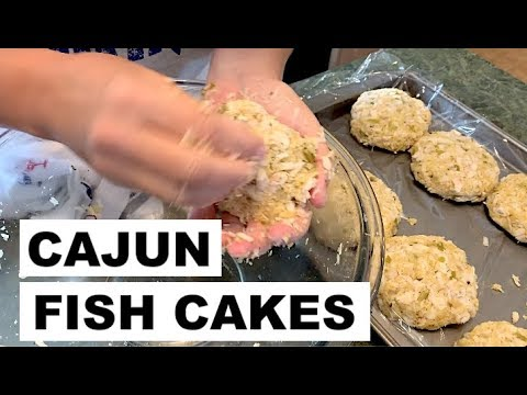 CATCH & COOK | Cajun Fish Cakes | Speckled Trout Recipe