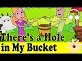 There's a Hole in My Bucket (Funny Song) | Muffin Songs