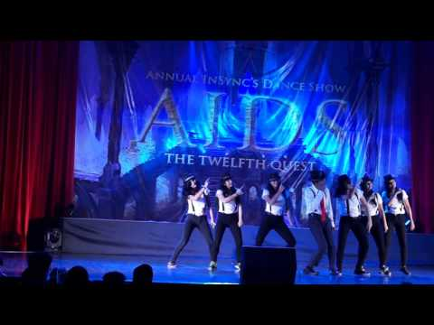 Awesome Dance Performance By IIT Bombay Students || Annual InSync's Dance Show || IIT Bombay