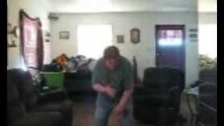 fat girl dancing to disturbia very disturbing