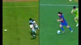Messi VS Maradona