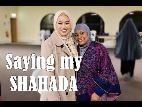 VLOG ~ SAYING MY SHAHADA AT A MOSQUE + Advice for New Muslims from the Imam