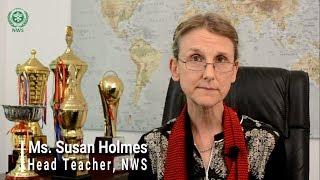 Ms. Susan Holmes, Head Teacher, NWS